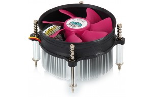 Устройство охлаждения(кулер) Cooler Master CPU Cooler A116 DP6-9GDSC-0L-GP, Intel 115*/775, 105W, Al, 3pin